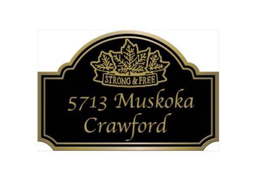 Shop > Custom Plaque Made in Canada